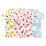 PAUBOLI Kimono Robe Newborn Cotton Yarn Robe Baby