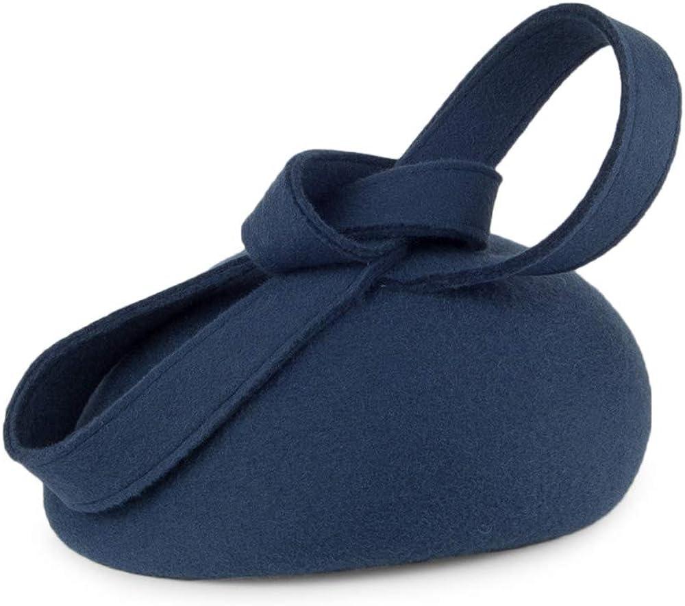 Whiteley Hats Carlita Pillbox Hat with Swirl Slate