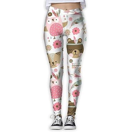 Jack16 - Pantalones de Yoga para Mujer, diseño de Gatos ...