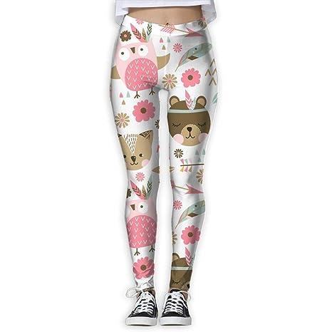 Jack16 - Pantalones de Yoga para Mujer, diseño de Gatos, Mujer ...
