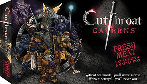Smirk & Dagger Games Cutthroat Caverns Fresh Meat Expansion 4 & Battle box by Smirk & Dagger Games