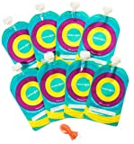 Best Oz Pouches - Reusable Baby Food Pouch (8-Pack) - Refillable 7 Review