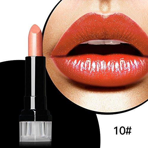 Magical Halo Waterproof Long Lasting Matte Cream Shimmer Lipstick Nude Vampire Makeup Retro Red Batom Blue - Taylor Up Make Swift