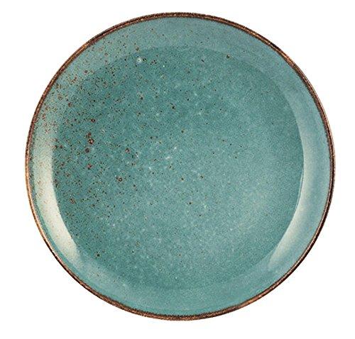 Azzurro 20 cm H/&H Reactive Set 6 Piatti Frutta