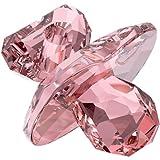 Swarovski Crystal #5003405 Pacifier, Tender Pink