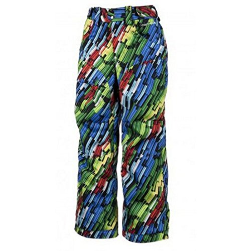 Obermeyer Ketza Boys Pants Neon Lights Print 18 by Obermeyer