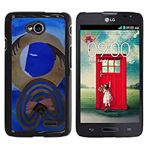 All Phone Most Case / Hard PC Metal piece Shell Slim Cover Protective Case Carcasa Funda Caso de protección para LG Optimus L70 / LS620 / D325 / MS323 cubism modern art Picasso watercolor