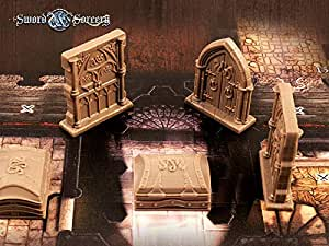 Ares Games Sword and Sorcery: Doors and Chests - English: Amazon.es: Juguetes y juegos