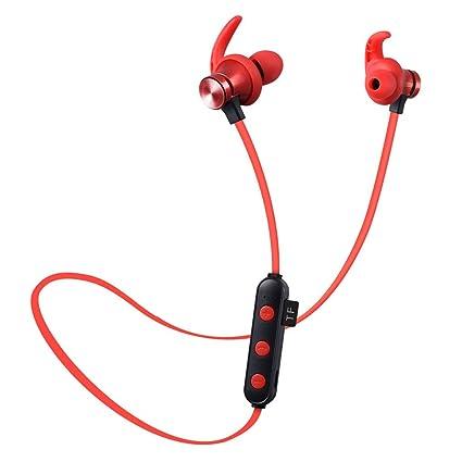 Auriculares inalámbricos Bluetooth, Tarjeta magnética Auriculares 4.2 Cancelación de ruido de movimiento y auriculares estéreo