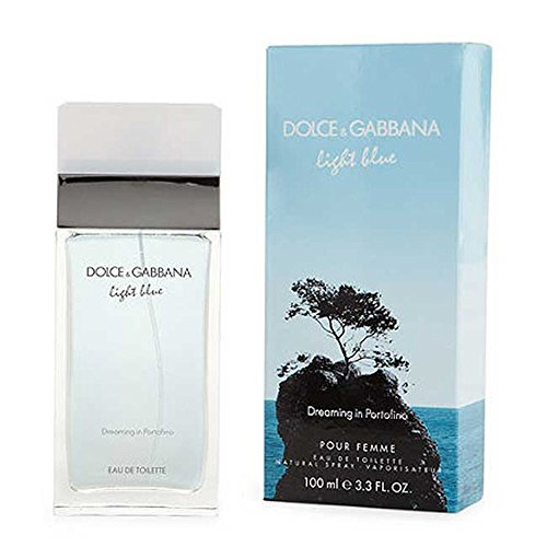 Dolce & Gabbana Light Blue Dreaming in Portofino Women Eau De Toilette Spray, 3.3 - Gabbana Price Dolce