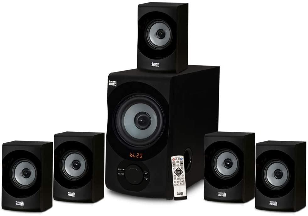 Acoustic Audio AA5172- Best affordable external speaker system for TV