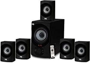 Acoustic Audio AA5172 Home Theater 5.1 Bluetooth Speaker System with USB / SD
