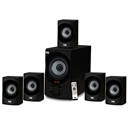 6a51ebeec35 Amazon.com  Acoustic Audio AA5172 Home Theater 5.1 Bluetooth Speaker System  with USB   SD  Electronics
