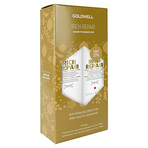 Goldwell Dualsenses Rich Repair Holiday Duo Shampoo And Conditioner 10.1 oz Each