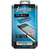iShieldz 01309-3 Screen Protectors for Apple iPhone 4/4S Dry Seal, 1-Pack-Screen Protectors-Retail Packaging (Clear)
