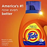 Tide Laundry Detergent Liquid, Original Scent, HE