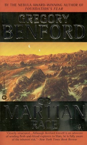 book cover of The Martian Race
