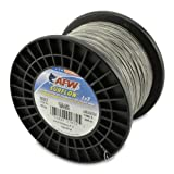 American Fishing Wire Surflon Nylon Coated 1x7 Stainless Steel Leader Wire, Bright, 1000-Feet/210-Pound