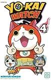 Yo-Kai Watch, Tome 4 :  : Avec 5 stickers Yo-kai Watch