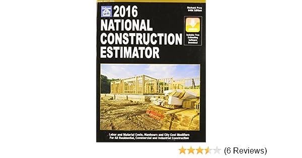 2016 National Construction Estimator (National Construction