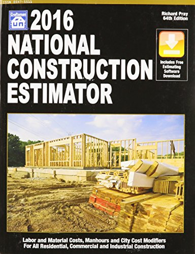 2016 National Construction Estimator (National Construction Estimator) (National Construction Estimator (W/CD)) by Craftsman Book Co