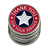 AttaCoin - 5 Metal Veterans Coins - Thank You for Your Service