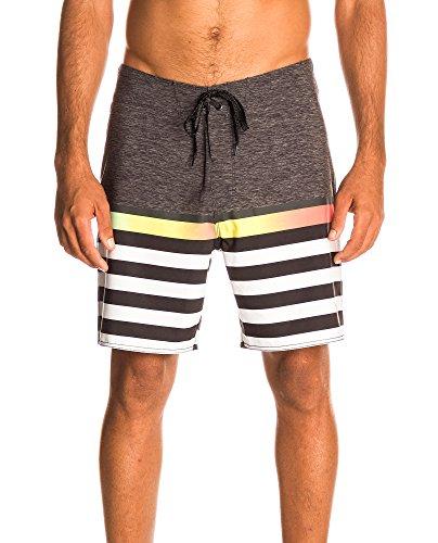 Rip nero Men bianco Swimwear Black Curl For gnFgZ1r