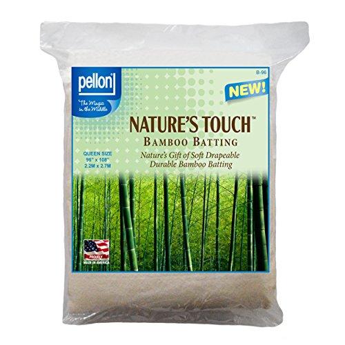 Pellon B-96 Nature's Touch Bamboo Blend Batting W/scrim - Queen 96