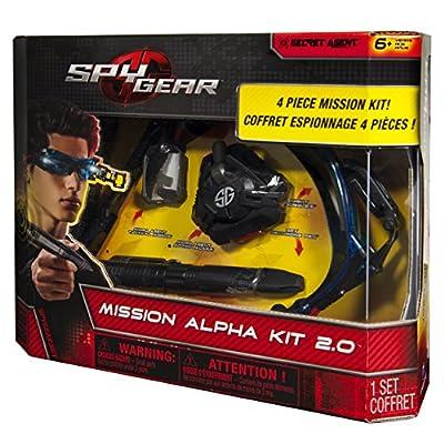 Spy Gear, Mission Alpha Set: Toys & Games