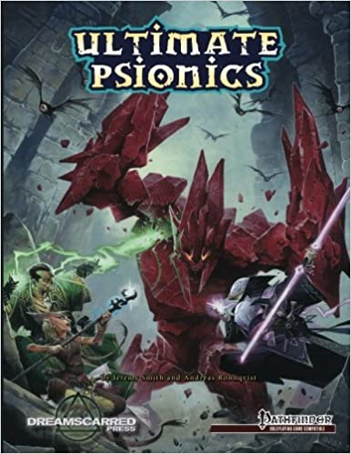 Buy Ultimate Psionics B&w: Black & White Softcover Book