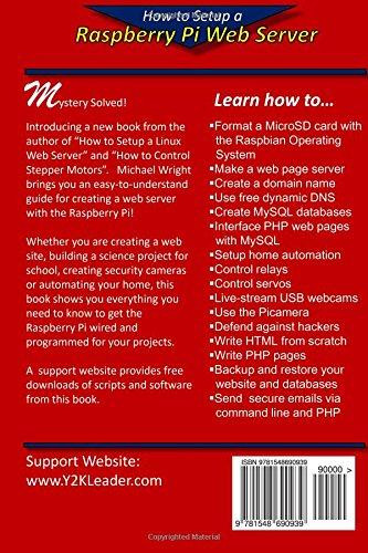 Amazon.com: How to Setup a Raspberry Pi Web Server: Web Sites, Home ...