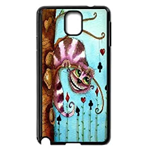 Wholesale Cheap Phone Case For Samsung Galaxy NOTE4 Case Cover -We All Mad Here Quotes-Cheshire Cat-LingYan Store Case 13