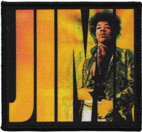 Application Jimi Hendrix Logo Patch