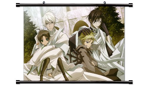 07 Ghost Anime Fabric Wall Scroll Poster  Inches 07 Ghost-25