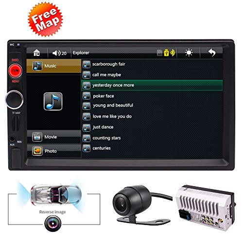 EINCAR Double Din Car Stereo Receiver with GPS: Amazon.co.uk: Electronics