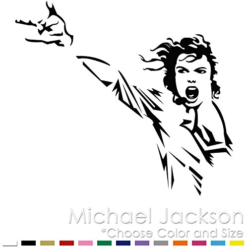 Michael Jackson Pop Star King Vinyl Decal Sticker MJ-03