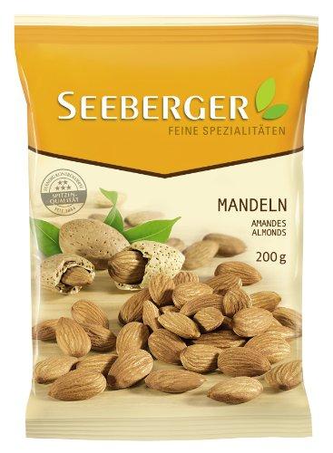 Seeberger Mandeln, 6er Pack (6 x 200 g Beutel)