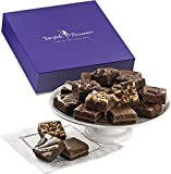 Fairytale Brownies Magic Morsel 18 Gourmet Food Gift Basket Chocolate Box - 1.5 Inch x 1.5 Inch Bite-Size Brownies - 18 Pieces