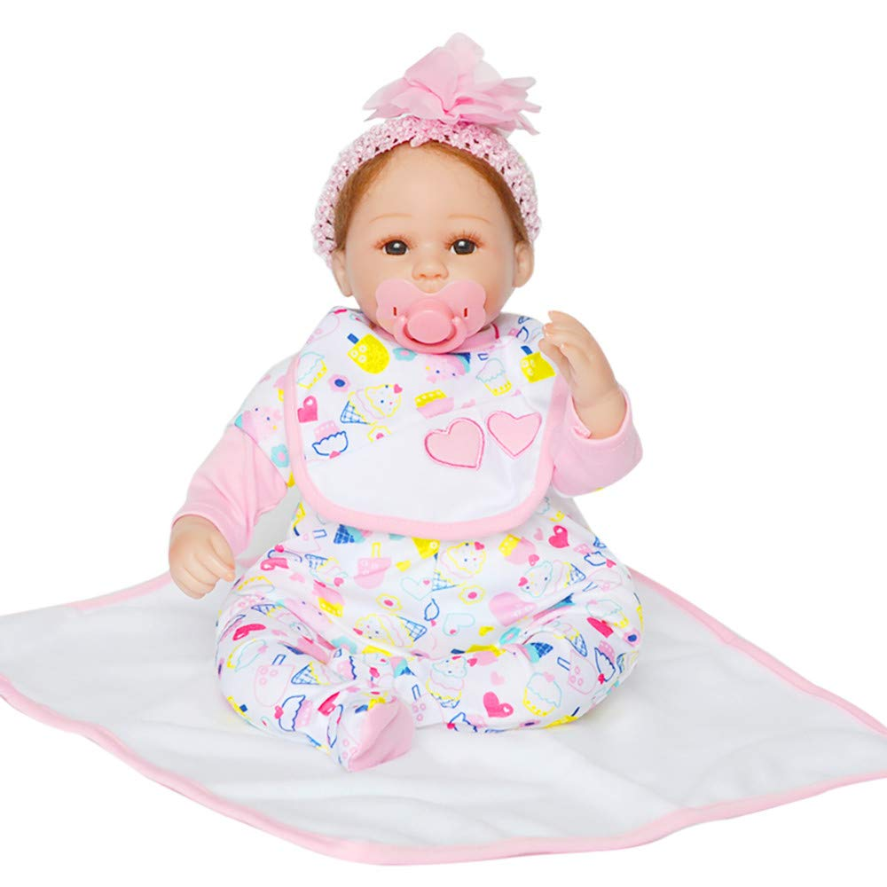 Birdfly Type:1020 Reborn Toddler Smile Baby Doll Sit Lovely Girl Silicone Lifelike Toy 3-7 Days Arrive Ship by DHL