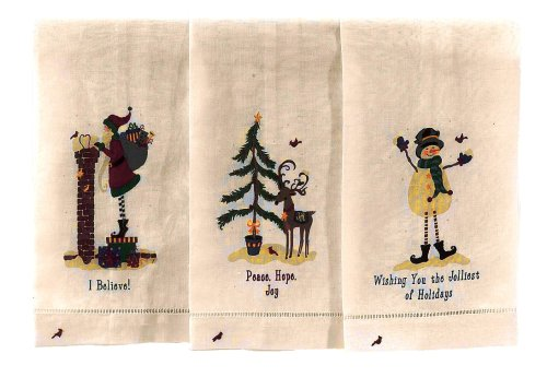 Ritz 3 Pc Boxed Guest Towel Set-Heartfelt Friends 80164