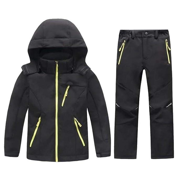 Amazon.com: LANBAOSI - Chaqueta y pantalones de forro polar ...