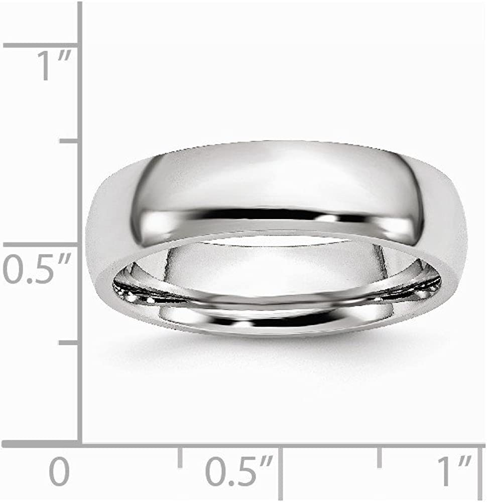 Jewels By Lux Cobalt Polished 6mm Band