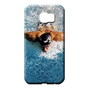 samsung galaxy s6 edge Brand Pretty Back Covers Snap On Cases For phone cell phone shells michael phelps