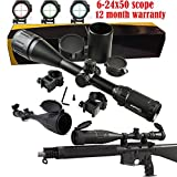 Sniper 6-24x50 AOE Illuminated Rifle Hunting Sniper Scope