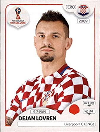 2018 panini world cup stickers russia 317 dejan lovren