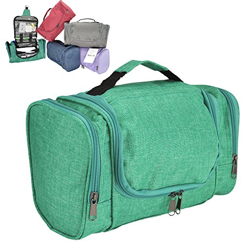 DALIX Travel Toiletry Accessories Green