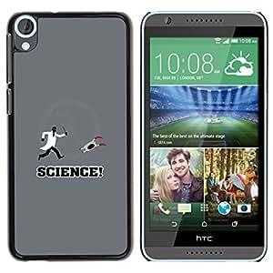 Stuss Case / Funda Carcasa protectora - Aperture Lab Science - Funny Gaming - HTC Desire 820