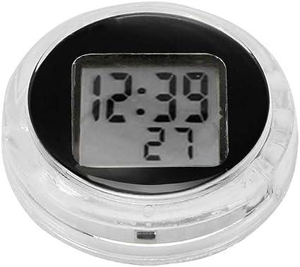 Motorrad Motorrad Uhr Konesky Mini Pocket Universal Stick On Motorrad Digitaluhr Uhr Mit Stoppuhr Funktion Ip64 Wasserdicht 1 Pcs Auto