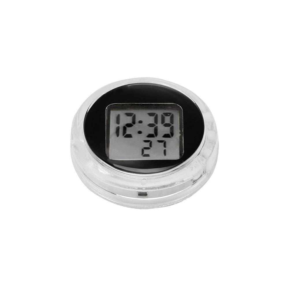Motorrad Motorrad Thermometer Konesky Mini Tasche Universal Stick-On Motorrad Digital Thermometer IP64 Wasserdicht (1 PCS)