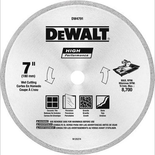 DEWALT DW4791 7 Inch Tile Blade